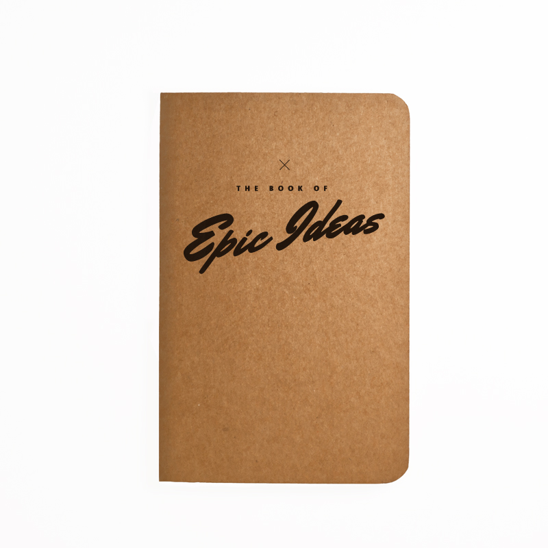 The book of Epic Ideas - Handmade Notebook